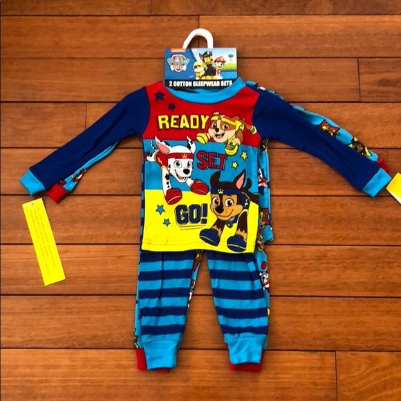 2044e32136 Nickelodeon Paw Patrol 4 pc sleepwear set- 18mths